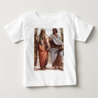 Plato and Aristotle Baby T-Shirt