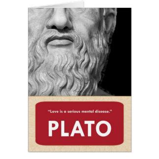 Plato Anti-Valentine's Day Card