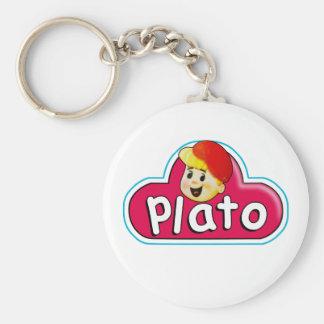 Plato Keychain