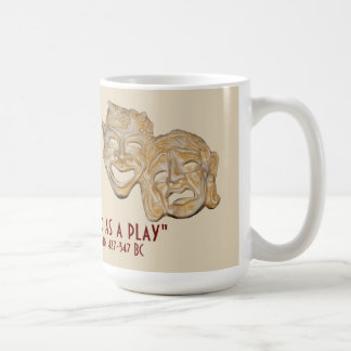 Plato Mug with humorous quote