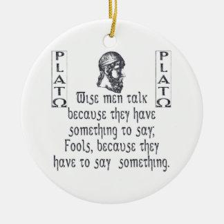 Plato Ornament