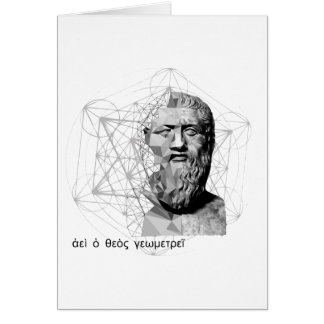 Plato vs. Geometry Card