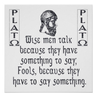 Platon Poster
