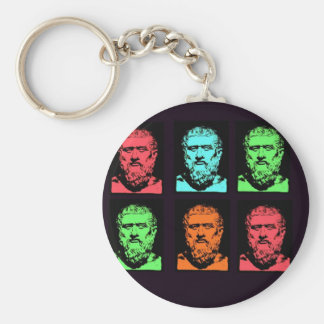 Platon Collage Keychain