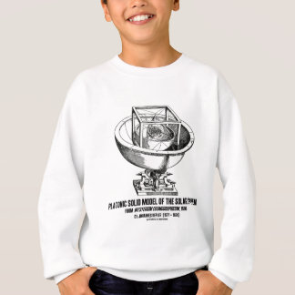 Platonic Model Of Solar System Mysterium Kepler Sweatshirt