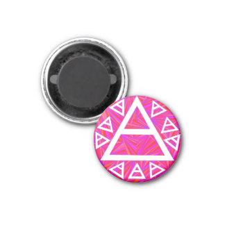 Plato's Air Sign Symbol Art Magnet