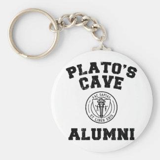 Plato's Cave Alumni Keychain
