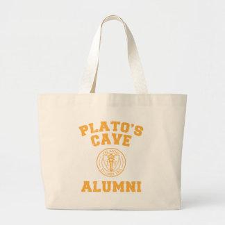 Plato's Cave Alumni Tote Bag