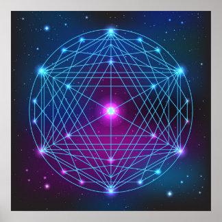 Plato's Sphere Poster