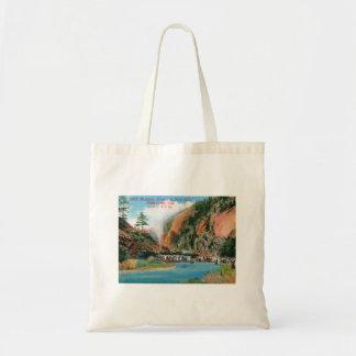 Platte Canyon, Dome Rock, Colorado Vintage Tote Bag