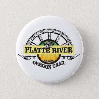 platte river ot marker 2 inch round button