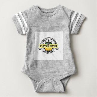 platte river ot marker baby bodysuit