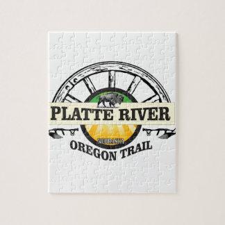 platte river ot marker jigsaw puzzle