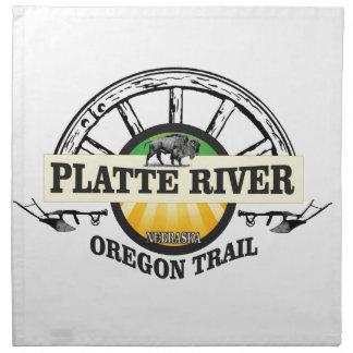 platte river ot marker napkin