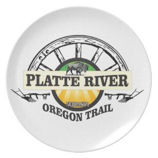 platte river ot marker plate