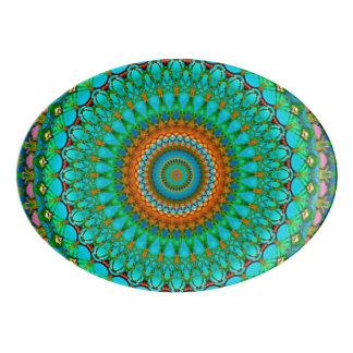 Platter Geometric Mandala G388