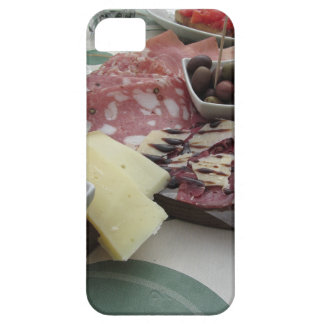 Platter of cold cuts with rustic ham prosciutto iPhone 5 case