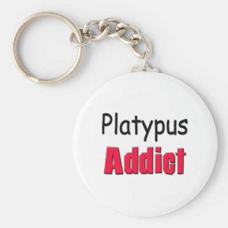 Platypus Addict Keychain
