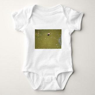 PLATYPUS DIVING IN WATER EUNGELLA AUSTRALIA BABY BODYSUIT