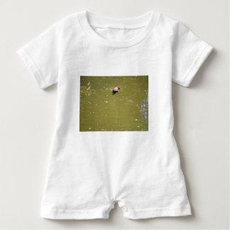 PLATYPUS DIVING IN WATER EUNGELLA AUSTRALIA BABY ROMPER