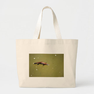 PLATYPUS EUNGELLA NATIONAL PARK AUSTRALIA LARGE TOTE BAG