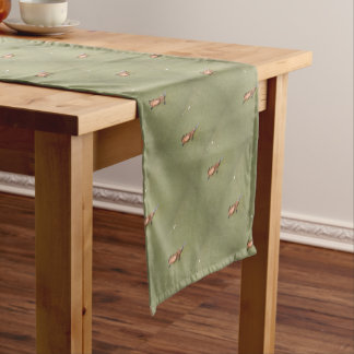 PLATYPUS EUNGELLA NATIONAL PARK AUSTRALIA SHORT TABLE RUNNER
