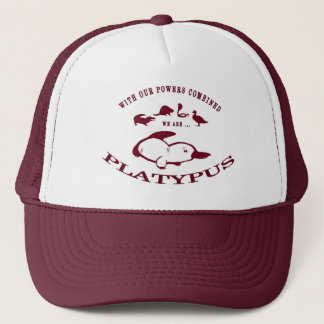 Platypus Hat (Red)