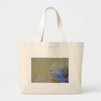 PLATYPUS IN WATER EUNGELLA NATIONAL PARK AUSTRALIA LARGE TOTE BAG