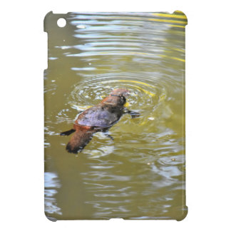 PLATYPUS IN WTAER EUNGELLA NATIONAL PARK AUSTRALIA iPad MINI CASES