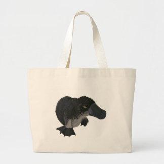 Platypus Large Tote Bag