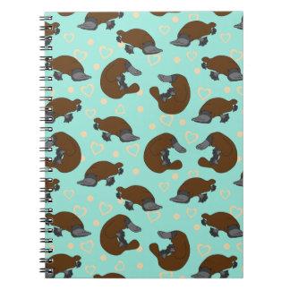 Platypus Love Notebook