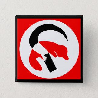 Platypus Revolutionary Button - Customized