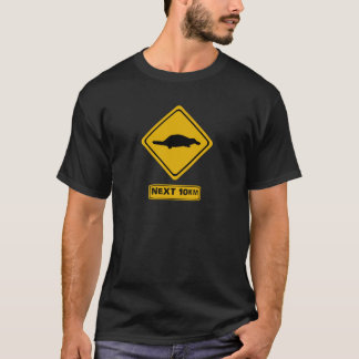platypus road sign T-Shirt