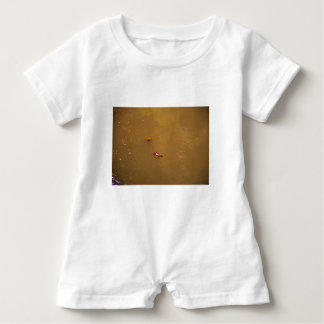 PLATYPUS & TURTLE EUNGELLA NATIONAL PARK AUSTRALIA BABY ROMPER