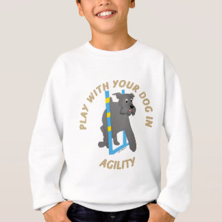 Play Agility - Schnauzer Sweatshirt