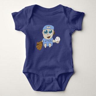 Play ball baby bodysuit
