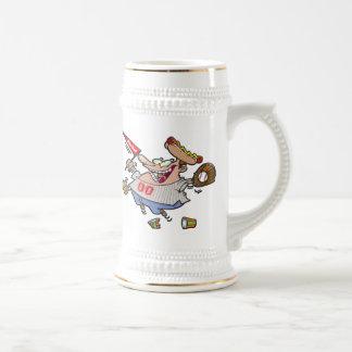 Play Ball Cartoon Character Coffee Mugs