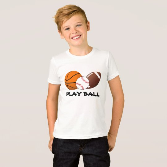 Play Ball Sports T-Shirt