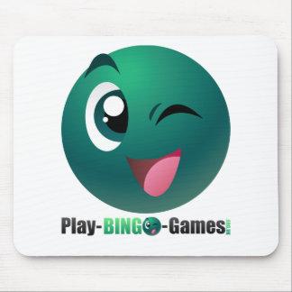 Play Bingo Games Logo & Mascot Mouse Pad