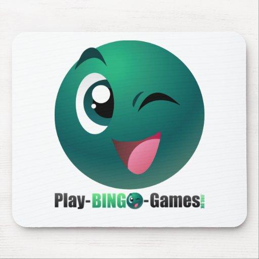 Play Bingo Games Logo & Mascot Mousepads