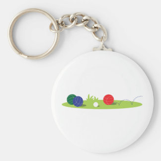 Play Bocce Keychain