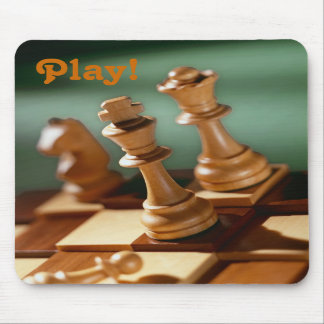 Play! Chess Mousepad