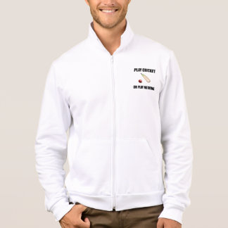 Play Cricket Or Nothing Black Jacket