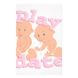Play Date Personalized Stationery