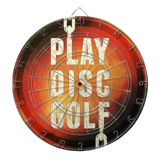 Play Disc Golf Dartboard With Darts