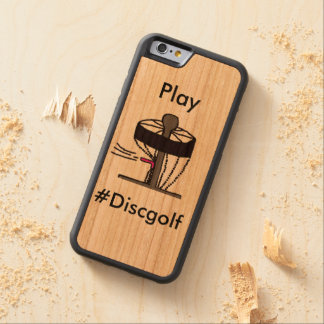 Play #DiscGolf Iphone 6S case/cover Cherry iPhone 6 Bumper Case