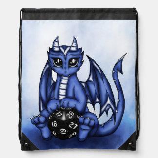 Play Dragon Drawstring Bag
