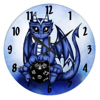 Play Dragon Large Clock