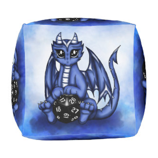 Play Dragon Pouf