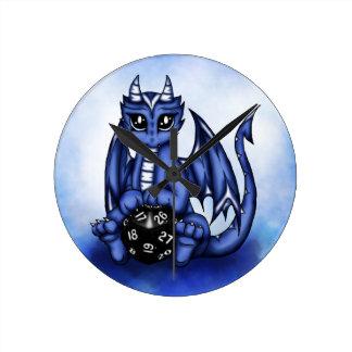 Play Dragon Round Clock